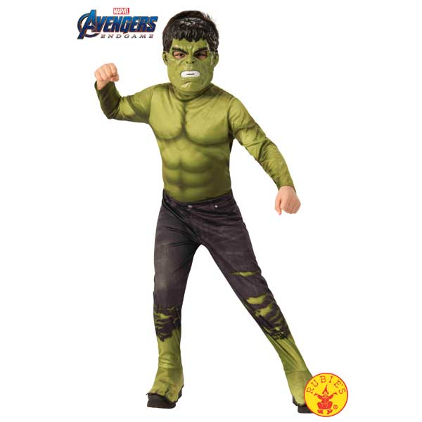 Disfraz Hulk Endgame Classic Avengers 3-4 años