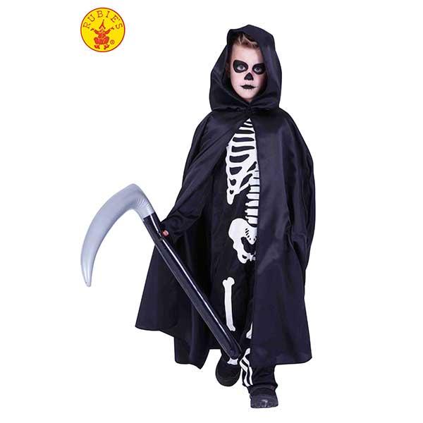 Capa Morte con Guadaña Hinchable Halloween