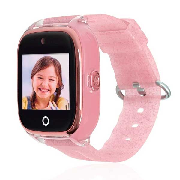 Save Family Reloj Infantil GPS Superior Rosa Glitter