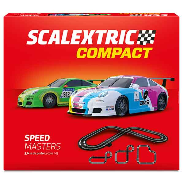 Scalextric Compact Circuito Speed Masters 1:43 - Imagen 1