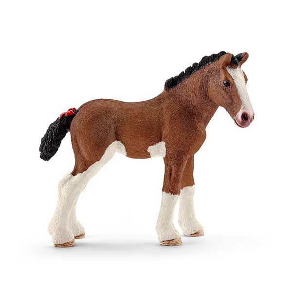 Cavall Poltre Clydesdale Schleich - Imatge 1