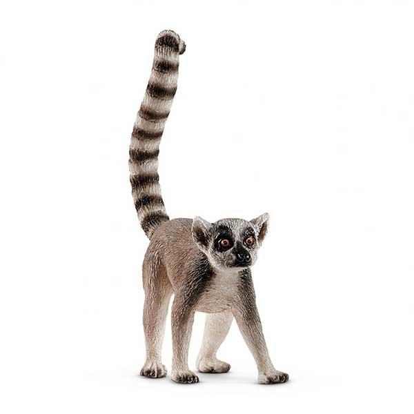 Lémur de Cua Anillada Schleich - Imatge 1