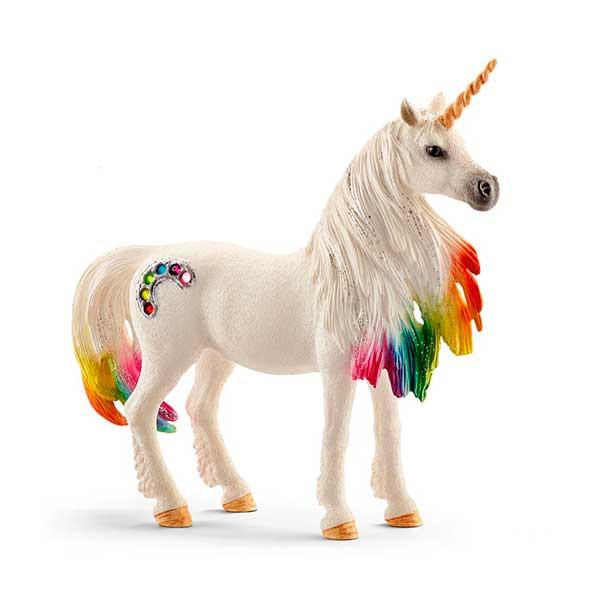 Unicorn Euga Arc Iris Schleich - Imatge 1