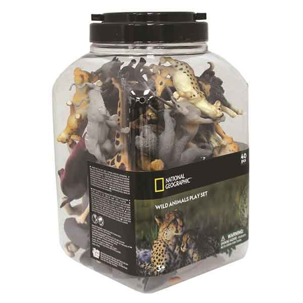 Cubo 40p Animales Selva National Geographic - Imagen 1
