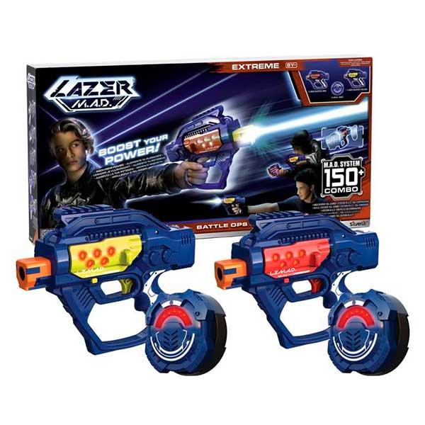Pack 2 Blásters Lazer M.A.D Battle Ops