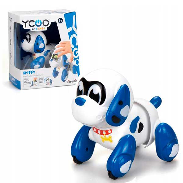 Perrito Robot Ruffy Yoo Friends Interactivo