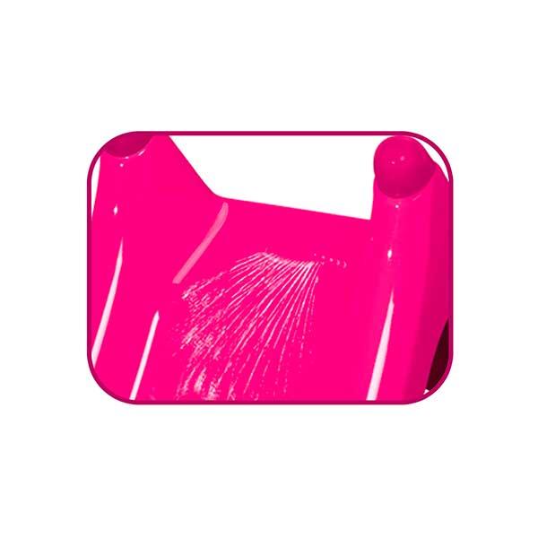 Tobogán infantil XS rosa de Smoby (310282) - Imatge 1