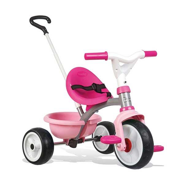 Tricicle Be Move Rosa Roda Silenciosa Smoby - Imatge 1