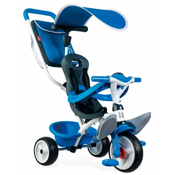 Triciclo Bebé Baby Balade 2 Azul de Smoby (741102)