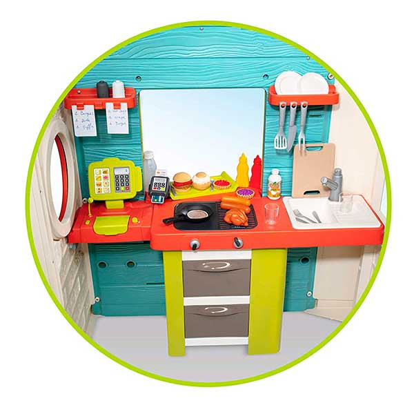 Casa Infantil Chef House de Smoby (810403) - Imatge 1