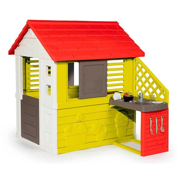 Casa infantil Nature II amb cuina i accessoris - Imatge 1