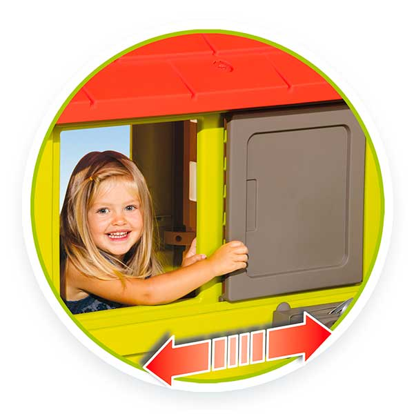 Casa infantil Nature II con cocina y accesorios de Smoby (810713) - Imatge 3
