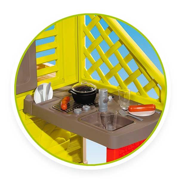 Casa infantil Nature II con cocina y accesorios de Smoby (810713) - Imatge 4