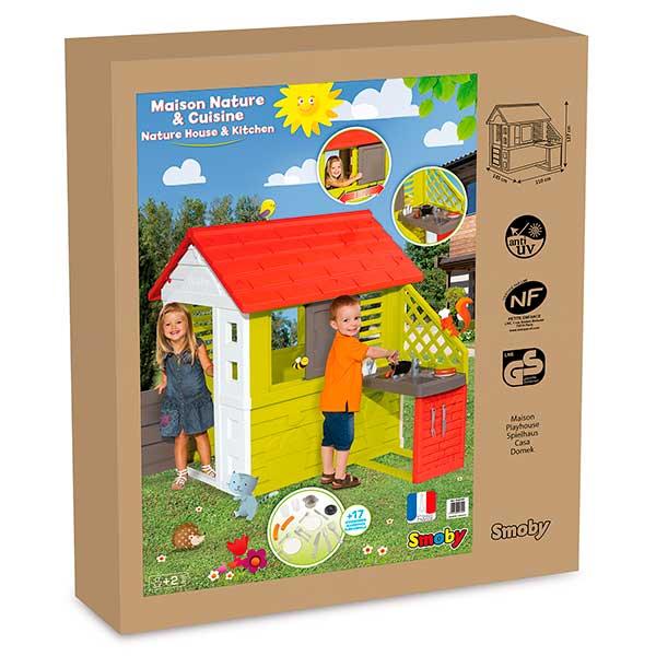 Casa infantil Nature II con cocina y accesorios de Smoby (810713) - Imatge 6