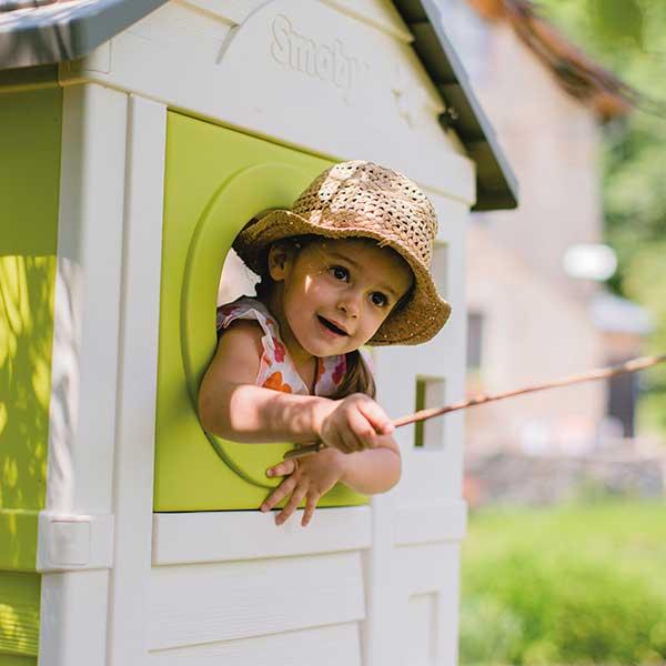 Casa infantil de la playa con tobogán de Smoby (810800) - Imagen 6
