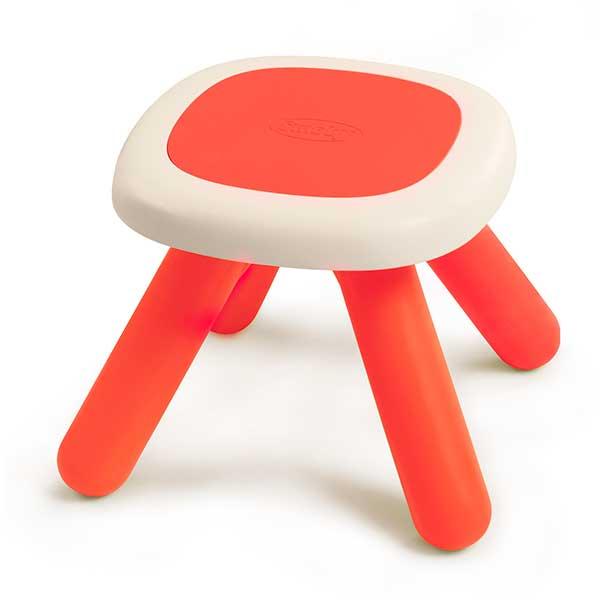 Taula - tamboret infantil vermell - Imatge 1