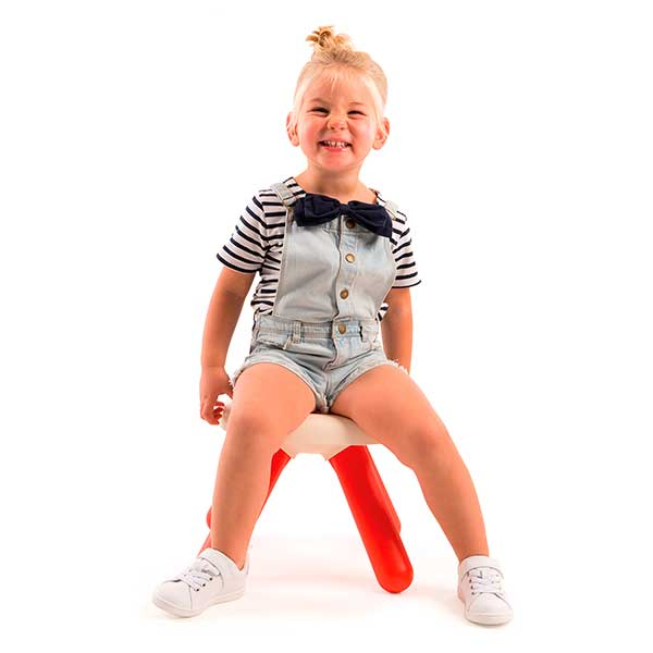 Mesa - taburete infantil rojo de Smoby (880203) - Imatge 1