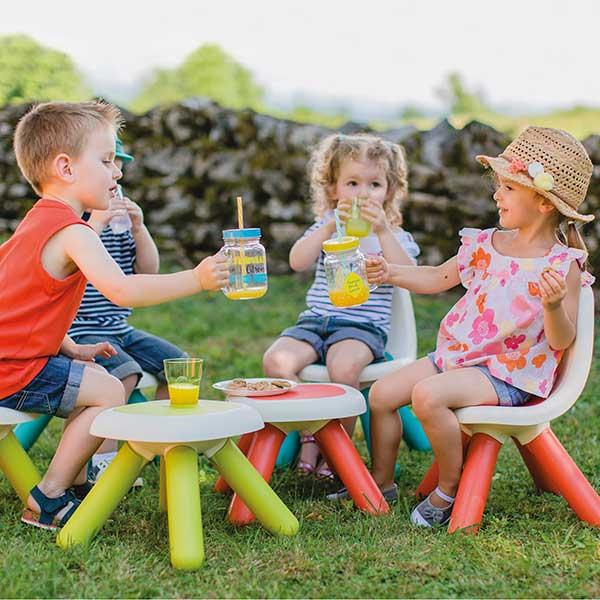 Mesa - taburete infantil rojo de Smoby (880203) - Imatge 4