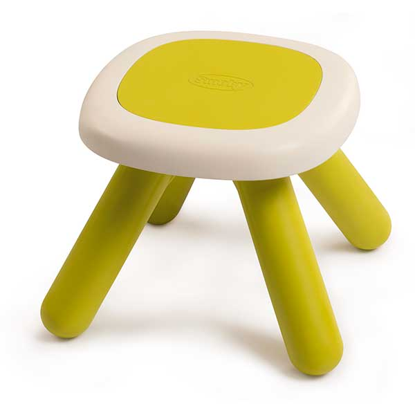Taula - tamboret infantil verd - Imatge 1