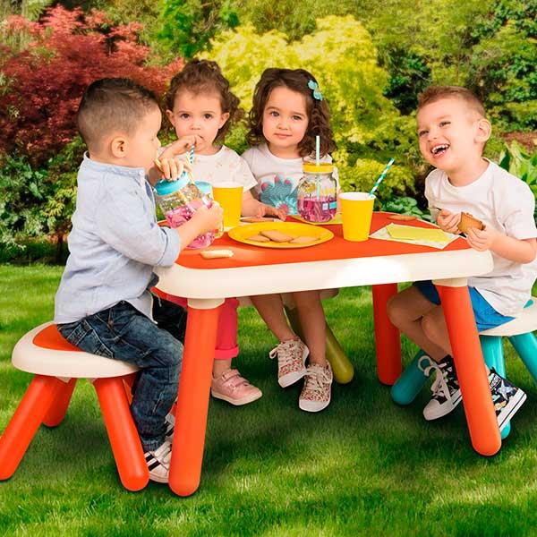 Mesa infantil roja de Smoby (880403) - Imatge 2
