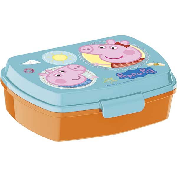 Sandwichera Infantil Rectangular Peppa Pig