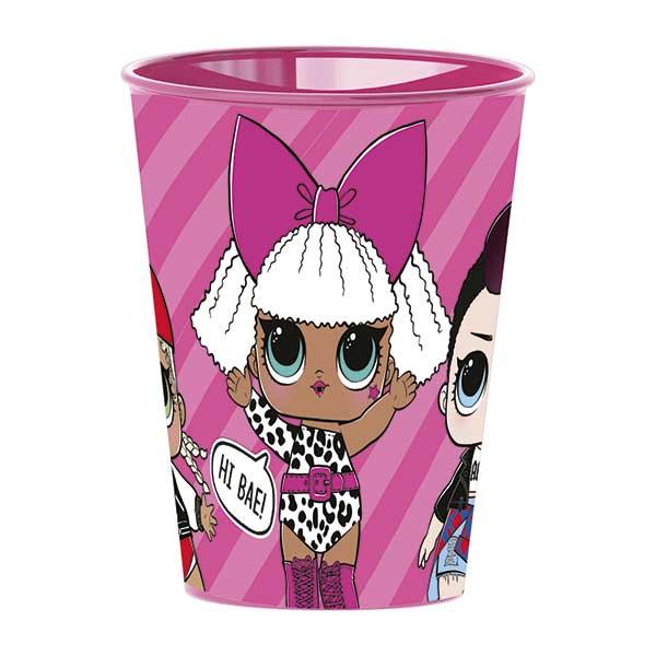 LOL Surprise Vaso Infantil Easy Pequeño 260ml