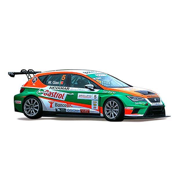 Cotxe Seat Leon Eurocup Castrol 1:32 - Imatge 1
