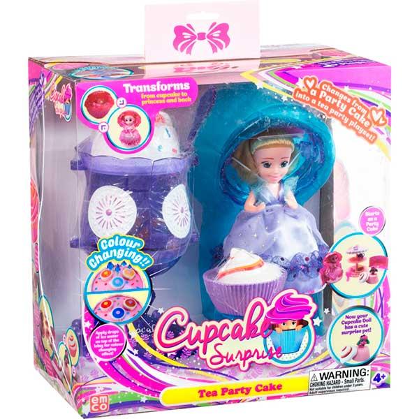 Conjunto Helado Muñeca Cupcake Delight Azul