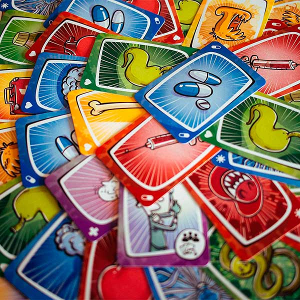 Juego de cartas Virus - Imatge 2