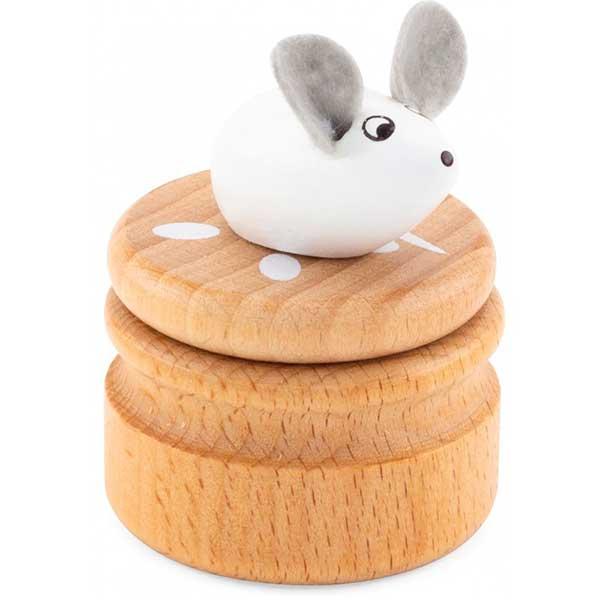 Caixa Madeira Rato para Dentes - Imagem 1