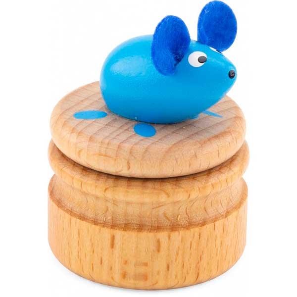 Caixa Madeira Rato para Dentes - Imagem 3