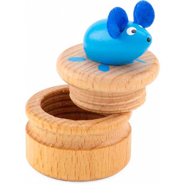 Caixa Madeira Rato para Dentes - Imagem 4
