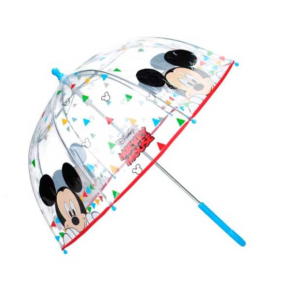 Mickey Mouse Paraguas Transparente Umbrella Party