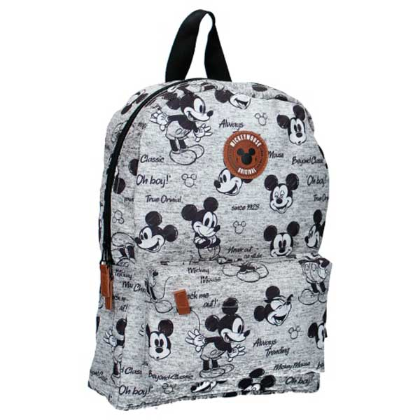Mickey Mouse Mochila Infantil Gris 33 cm