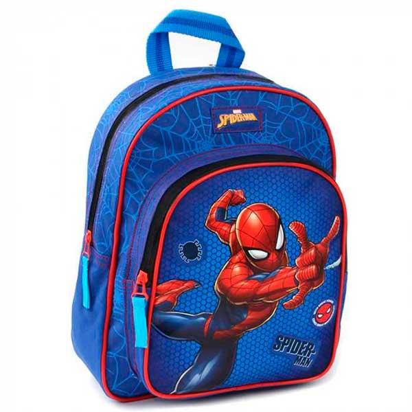 Spiderman Mochila Infantil Azul 31 cm
