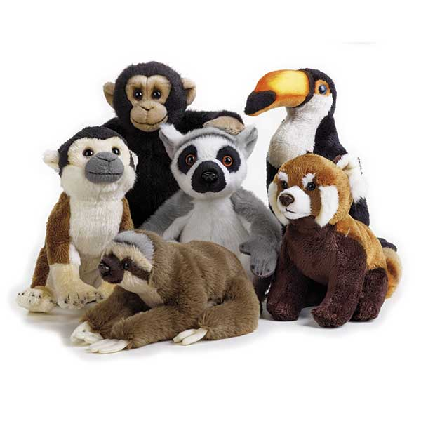 National Geographic Peluche Animalito Tropical - Imagen 1