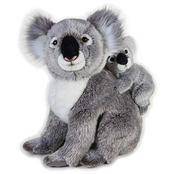 National Geographic Peluche Koala con Cría - Imagen 1