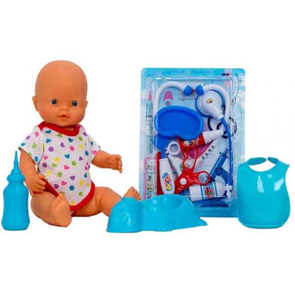 Muñeca Baby Pipí Doctor con Accesorios