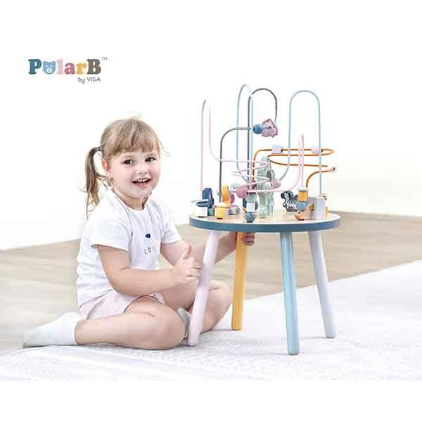 Mesa Actividades Infantiles Madera PolarB