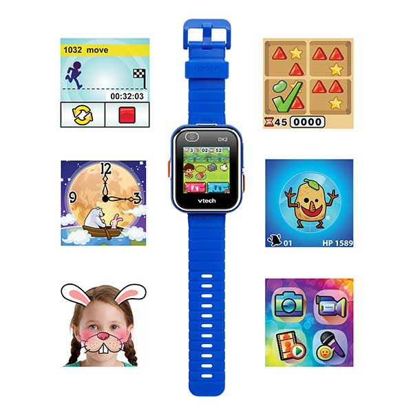 Vtech Reloj Kidizoom Smart Watch DX2 Azul - Imatge 1