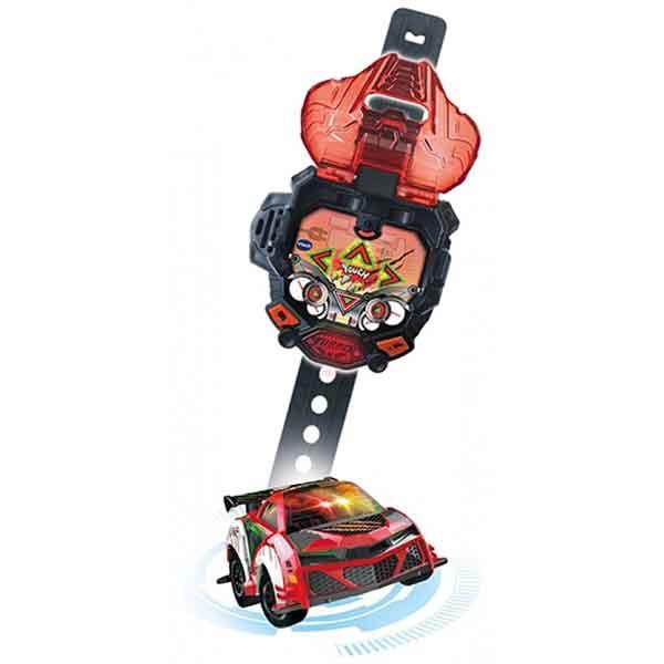 Vtech Reloj Mando Turbo Force Racers Rojo - Imagen 1