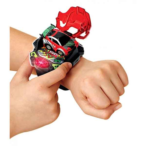 Vtech Reloj Mando Turbo Force Racers Rojo - Imagen 3