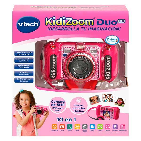 Vtech Cámara de Fotos Kidizoom Duo DX 10 Rosa - Imatge 2