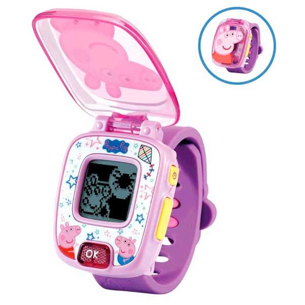 Vtech Peppa Pig Reloj Infantil Morado