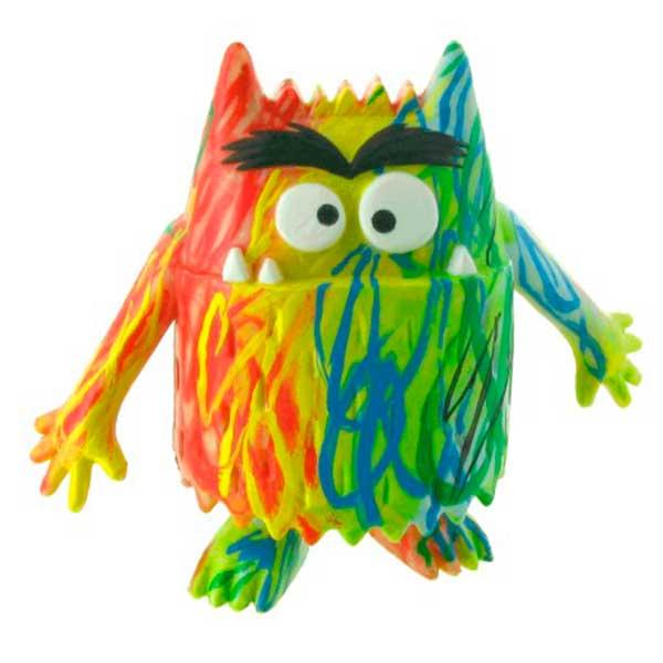 Figura Multicolor Monstruo de Colores - Imagen 1