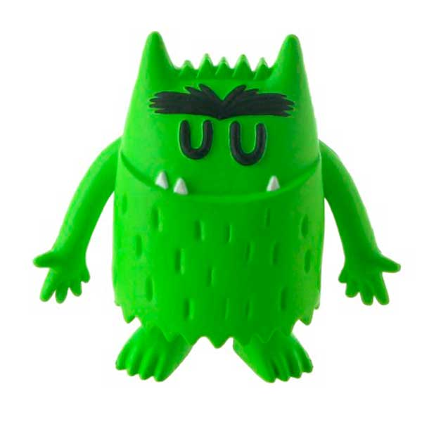 Figura Calma Monstruo de Colores Verde - Imagen 1