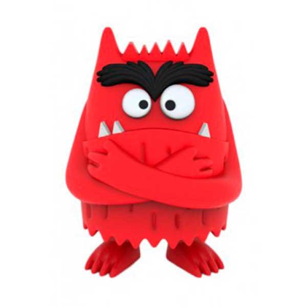 Figura Monstruo de Colores Ira Rojo 6cm - Imagen 1