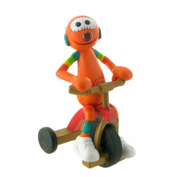 Figura Mic con Triciclo Club Super 3 7,5cm - Imagen 1