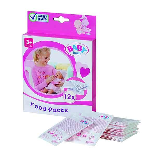 Pack 12 Sobres de Papilla Baby Born