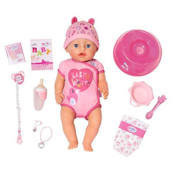 Niña Baby Born Interactiva